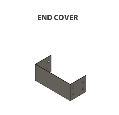 Cable tray-END Cover