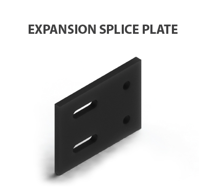 Cable tray-EXPANSION Splice plate