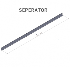 Cable tray-Seperator