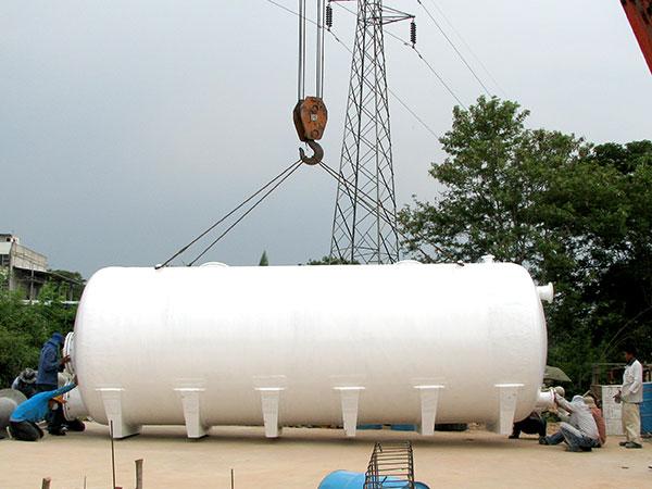 FRP scrubber tank Horizontal tank