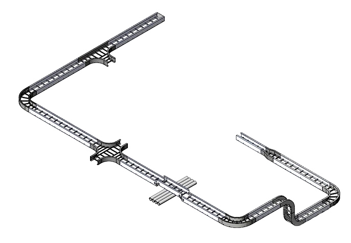 FRP Tray cable tray cable ladder