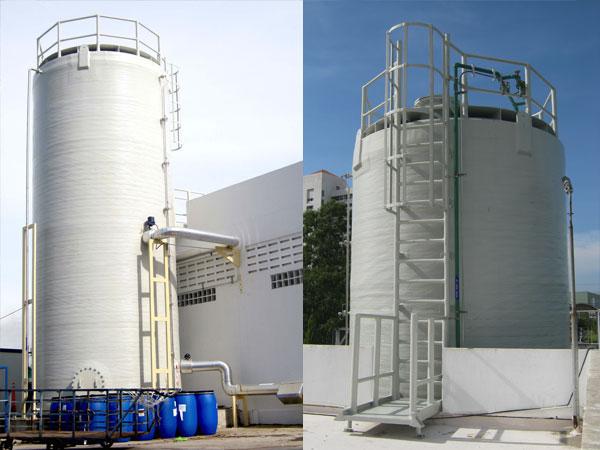 GRE vertical tank