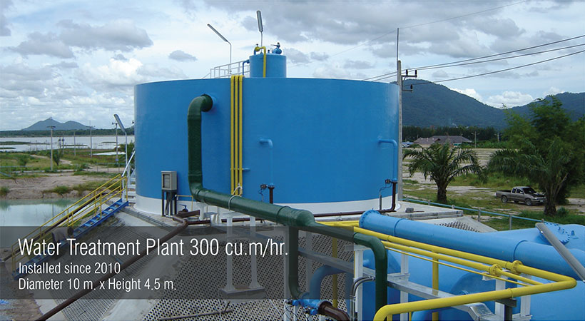 Water Treatment Plant Diameter 10m
