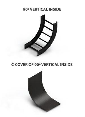 C cover 90 Vertical inside